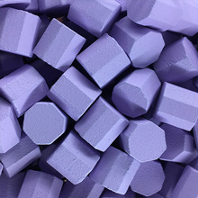 Lavender Wooden Octagons (10x10x10mm)