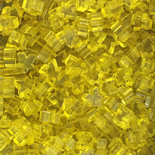 "Transparent ""Yellow"" Acrylic Mini Meeples (12mm)"
