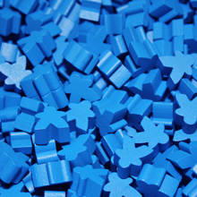 Blue Mini Meeples (12mm)