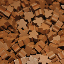 Brown Mini Meeples (12mm)