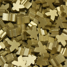 Gold Mini Meeples (12mm)