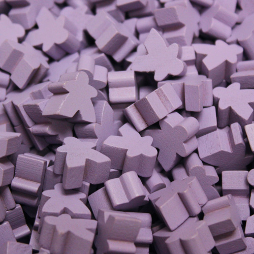 Lavender Mini Meeples (12mm)
