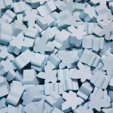 Sky Blue Mini Meeples (12mm)