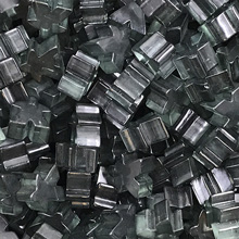 "Transparent ""Black"" Acrylic Meeples (16mm)"
