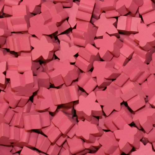Meeplesource Com Pink Meeples 16mm