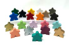 "2"" Meeple - Choose your color (2 inches tall)"