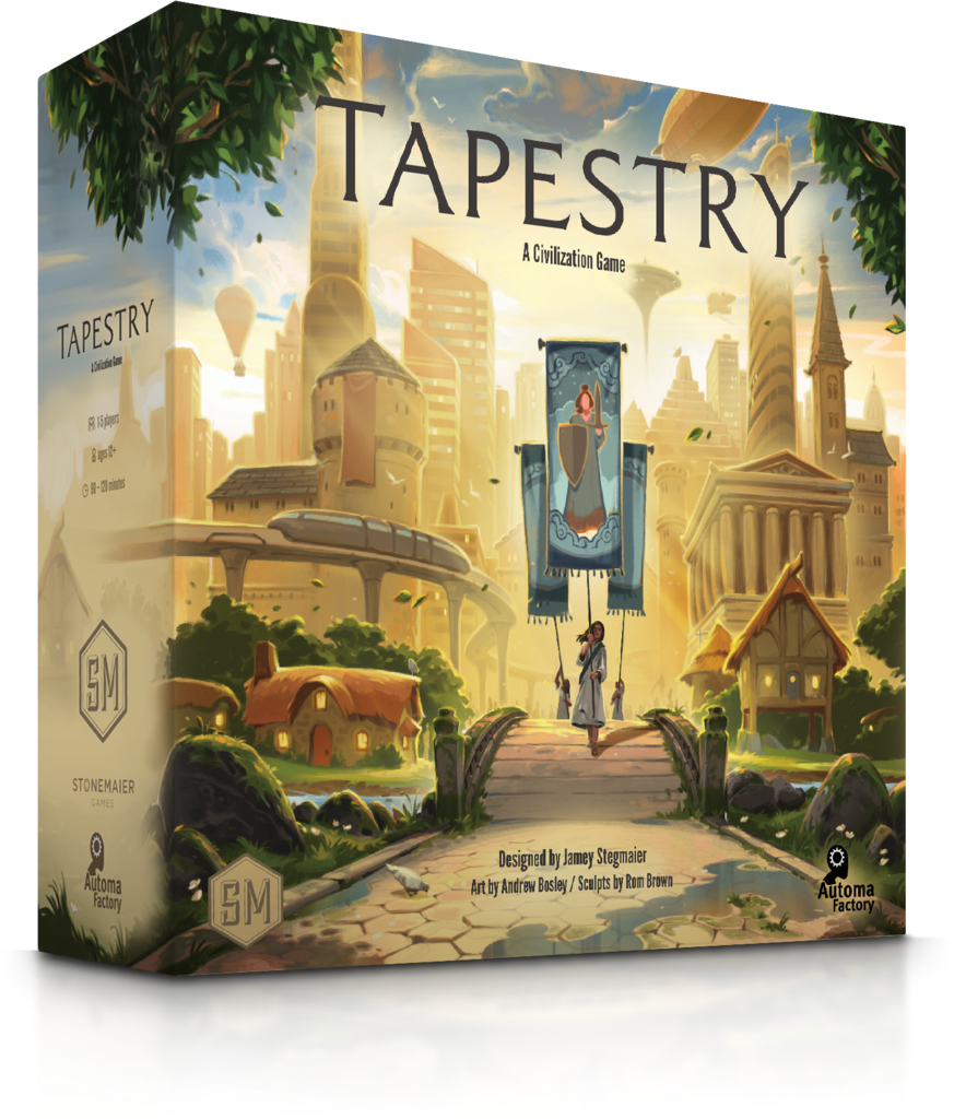 Tapestry (Stonemaier Games) - Numbered 1st Printing