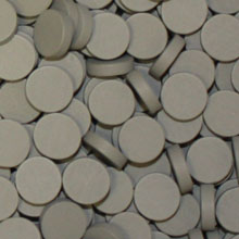Grey Wooden Discs (15mm x 4mm)