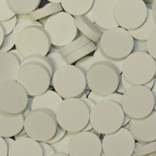 White Wooden Discs (15mm x 4mm)
