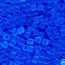 Blue (Translucent) Acrylic Cubes (8mm)