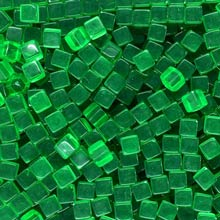 Green (Translucent) Acrylic Cubes (8mm)