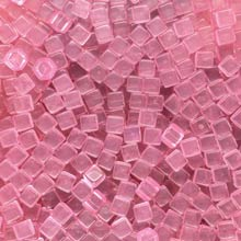 Pink (Translucent) Acrylic Cubes (8mm)