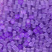 Purple (Translucent) Acrylic Cubes (8mm)