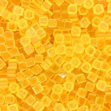 Yellow (Translucent) Acrylic Cubes (8mm)