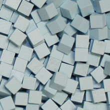 Sky Blue Wooden Cubes (8mm)