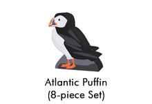 Atlantic Puffin Meeples (8-pc set) - From 2019 Extended Series
