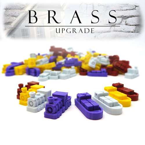 3D Printed Upgrade Kit for Brass (112 pieces)