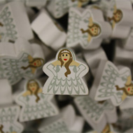 Bride/White Princess Mega Meeples (19mm)