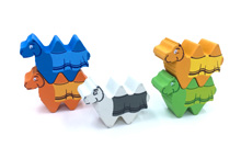 5-Piece Set of Character Camels (Compatible with Camel Up)