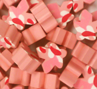 Pink Camo Meeples (16mm)