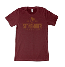 Stonemaier Vineyard [Cardinal Red Tri-Blend Tee]
