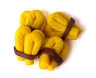 Polymer Clay Wheat Bundle Pieces (10 pack)