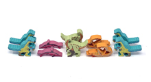 10-Piece Partial Set for DinoGenics: Controlled Chaos