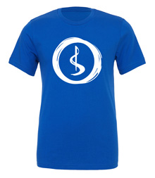 Charterstone: Blue Charter (Blue T-Shirt with White Logo)