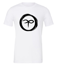 Charterstone: Black Charter (White T-Shirt with Black Logo)