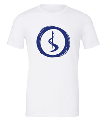 Charterstone: Blue Charter (White T-Shirt with Blue Logo)