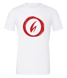 Charterstone: Red Charter (White T-Shirt with Red Logo)