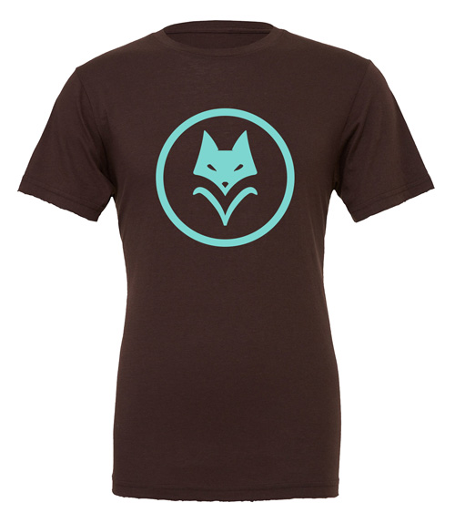 Scythe: Vesna (Brown T-Shirt with Teal Logo)