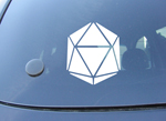 "D20 Decal (4"" wide)"