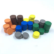 72-piece Pack of Discs perfect for Decktet (15mm x 4mm)