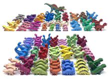 167-pc Complete Upgrade Kit for Dinosaur Island and Totally Liquid Expansion