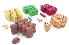 Food Chain Magnate Upgrade Kit (200 pcs)