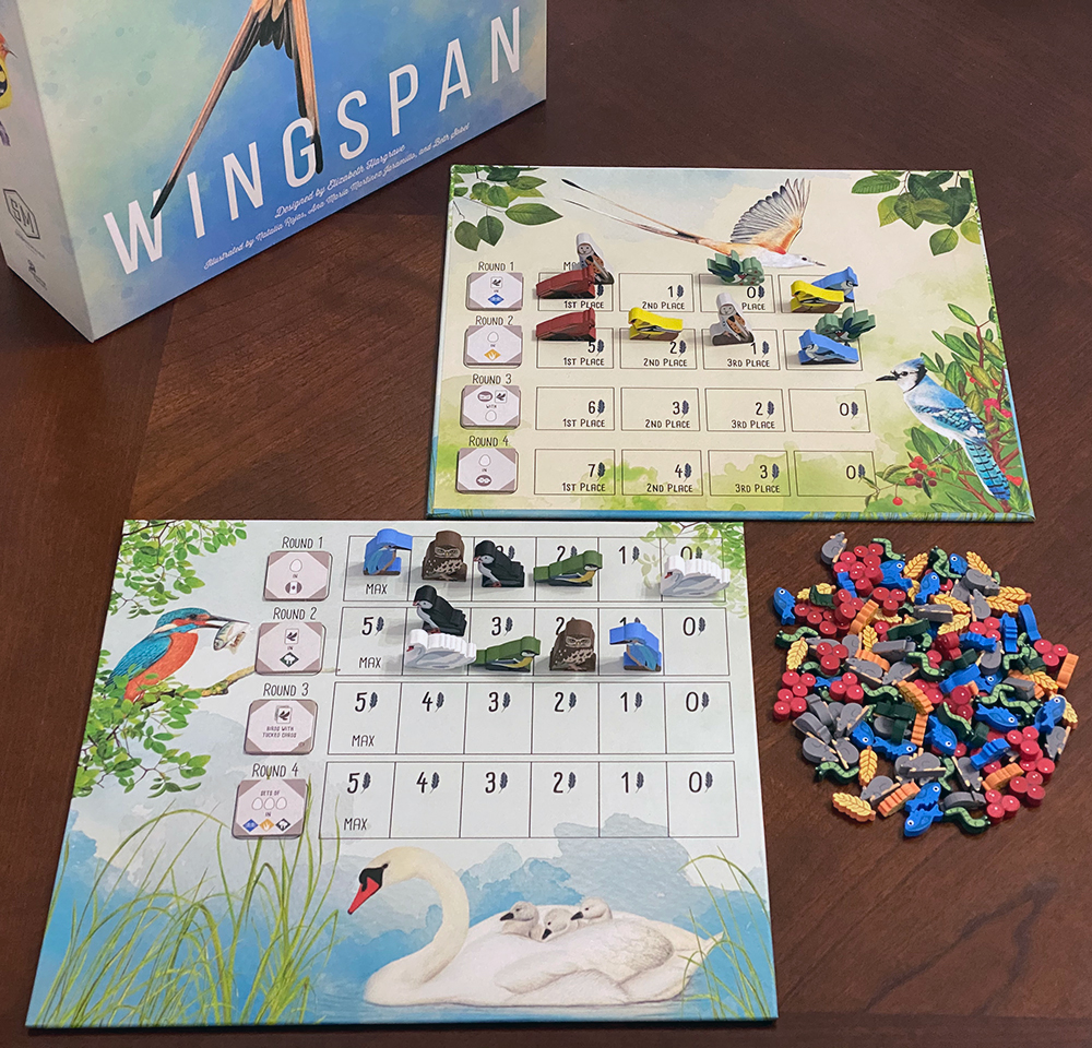 Wingspan Board Game Bird Action Markers Set of 40-3d Printed