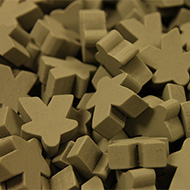 Grey Super Mega Meeples (24mm)