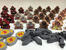 Imperial Settlers Upgrade Kit (40 Character Meeples + optional resources)