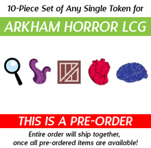 147-Piece Game Upgrade Kit (Compatible with Arkham Horror LCG ) Recommended for 2 players (Kickstarter Pre-Order)