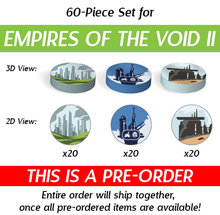 60-Piece Set for Empires of the Void II  (Kickstarter Pre-Order)
