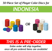 30-Piece Set of Discs for Indonesia