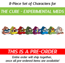 8-Piece Set of Characters for Pandemic: The Cure: Experimental Meds (Kickstarter Pre-Order)