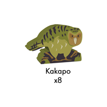 PRE-ORDER: Kakapo Meeples (8-pc set)