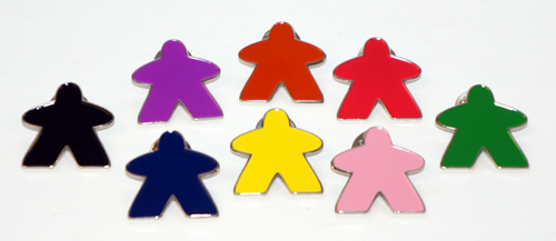 Meeplesource Com Meeple Lapel Pins Choose Your Color