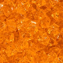 Orange (Translucent) Acrylic Gems (Large)
