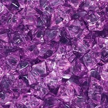 Purple (Translucent) Acrylic Gems (Large)