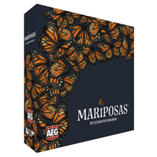 PRE-ORDER: Mariposas (AEG) by Elizabeth Hargrave - Expected Release Date mid-August 2020