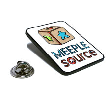 Large Lapel Pin (Meeple Source Logo)