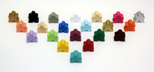 Sampler Pack of All Mini Meeples (12mm) - 1-of-each of all 21 colors!